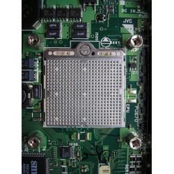 Carte de rack connecteurs plaqués or, processeur intégré doré