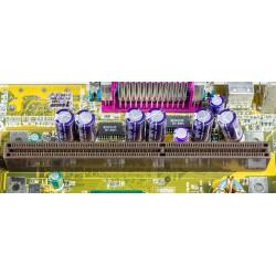 Carte électronique plaqué or