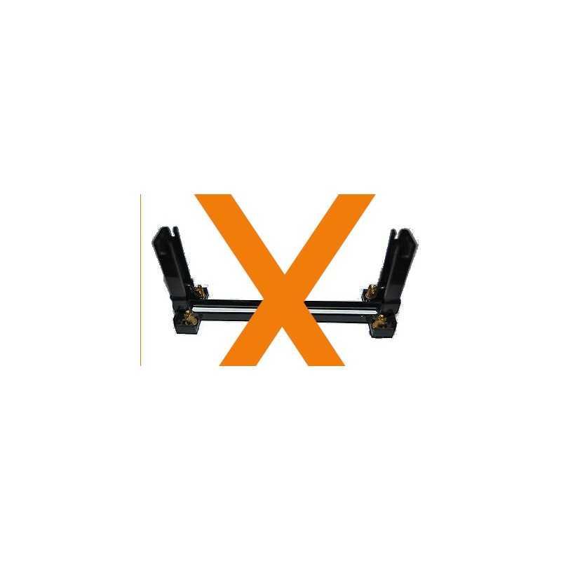 Carte électronique avec pistes plaquées or