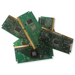 Téléphone mobile première génération avec clavier, sans